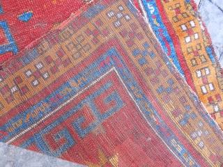 Antique Anatolian Konya Rug