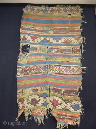 Antique anatolian Chuval Face