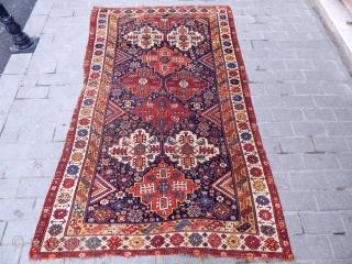 Antique Qashqaii Kamse Rug  size.290x180 cm