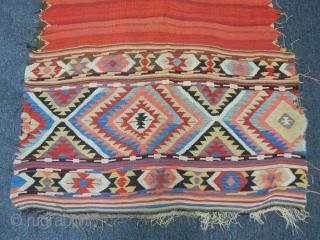 Antique Anatolian Konya Kilim