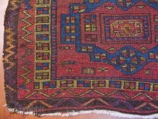 Antique East Anatolian Rug Bagface  size.55x72 cm