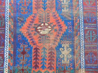 Antique Timuri Baluch Rug
