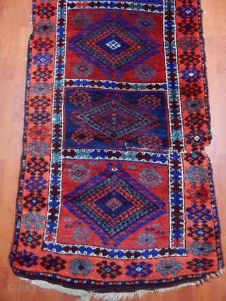 Antique East Anatolian Yörük Rug Runner  size.280x90cm
