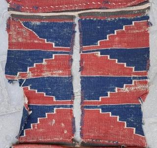 Antique west Anatolian Saddlebag Kilim