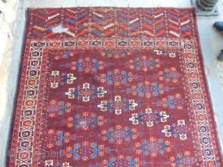 Antique Türkmen Yamut Main Rug