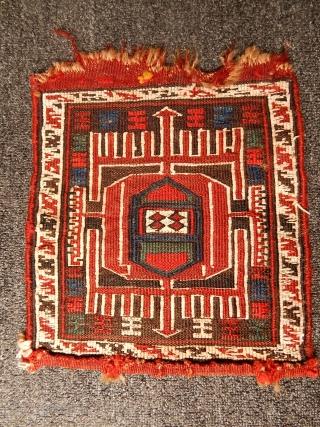 Antique Sahsavan Sumak Bagface size.28x28cm