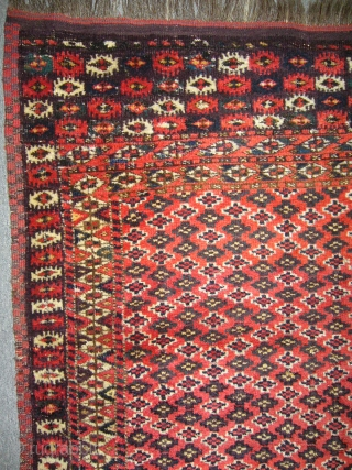 Antique Turkmen Chodor Rug