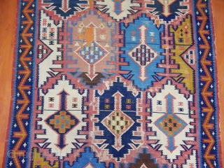 Antique Caucaqsian Kuba Kilim  Size.355x185cm