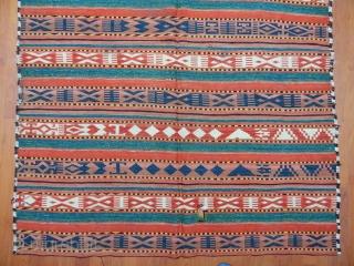 Antique Uzbek Gaceri Kilim Size.272x140cm