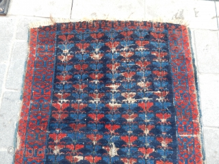 Antique Kuba Sirvan Rug
