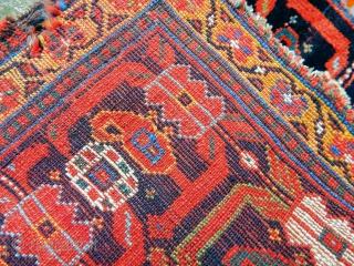 Antique Qashqaii Kamse Bagface
