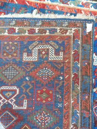 Antique Kuba Sirvan Rug  size.197x132cm