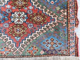 Antique Qashqaii Bagface