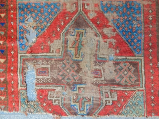 Antique East Anatolian Rug Fragment