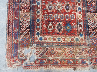 Antique Cihci Sirvan Rug