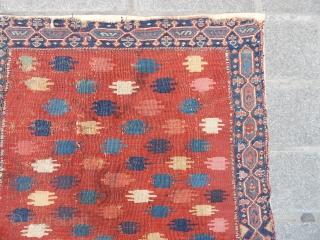Antique Sahsavan Sumak Bagface