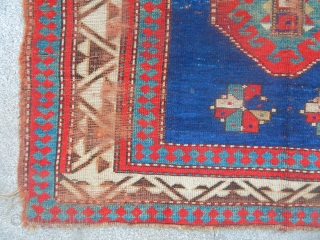 Antique Borjalı Prayer Rug