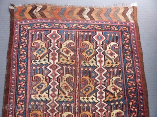 Antique Turkmen Ersari Rug