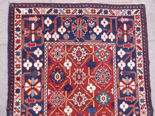 Antique Caucasian Kuba Sirvan Rug  Size.148x103 cm