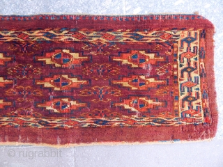 Antique Turkmen Yamut Rug  Torba