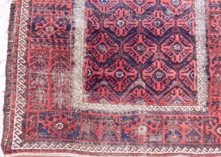 Antique Baluch Rug  size.204x105 cm