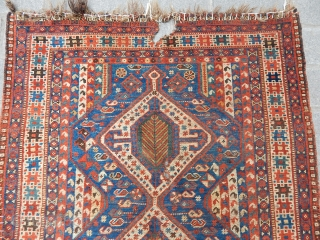 Antique Shiraz Rug 