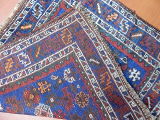 Antique Qashqaii Rug Bagface