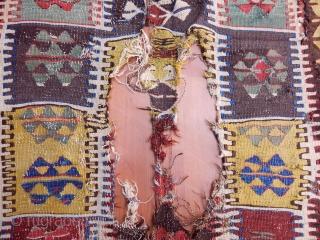 Antique Anatolian Kilim size.120x100cm