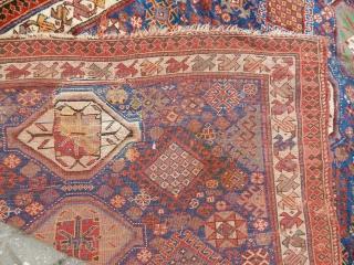 Antique Qashqaii Rug