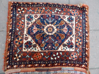 Antique Qashqaii Rug Saddlebag