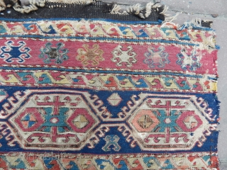 Antique Caucasian Sumak Panel