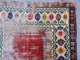 Antique Caucasian Talish Rug