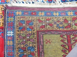 Antique Anatolian Konya Prayer Rug