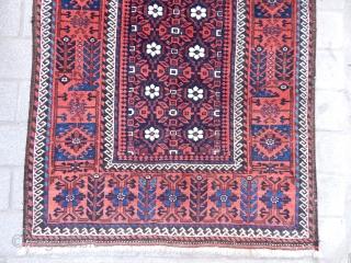 Antique Tumuri Baluch Rug