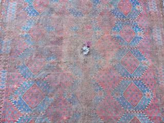 Antique Turkmen Ersari Rug