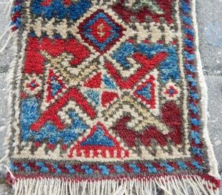 Antique Anatolian Rug Bagface  Size.33x24 cm
