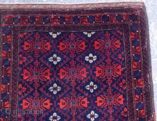 Antique Tumuri Rug  Baluch Bagface
