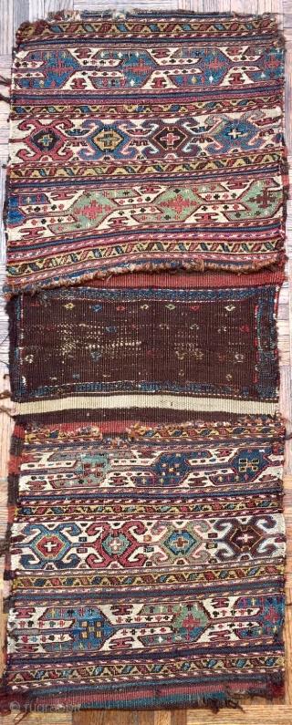 Antique Shahsavan Sumak  Saddle Bag