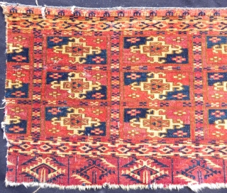 Antique Turkmen Tekke Fragment 