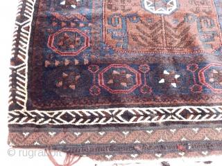 Antique Baluch Rug Bag
