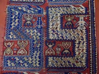 Antique Caucasian Sumak Fragment