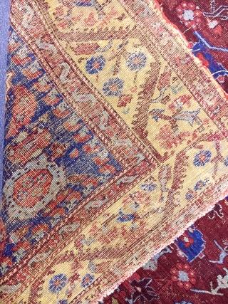 Antique West Anatolian Kula Rug
