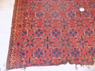 Antique Turkmen Ersari Besir Fragment