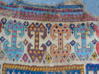 Antique Sahsavan Mogan Rug