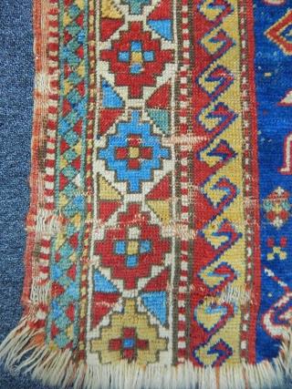 Old Fahrola Kazak Fragment  size.70x110cm