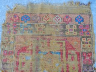 Antique Cappodocia Carpet Fragment