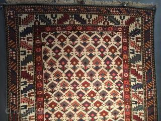 Old Caucasian Şirvan Rug