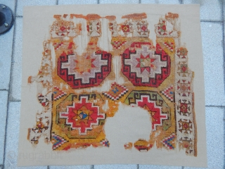 Antique Cappadocia Carpet fragment