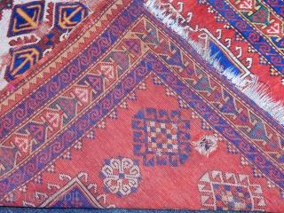 Old Fahrola Prayer Rug size.200x130cm