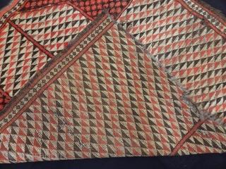 Old Kırgız Prayer Fragment Rug